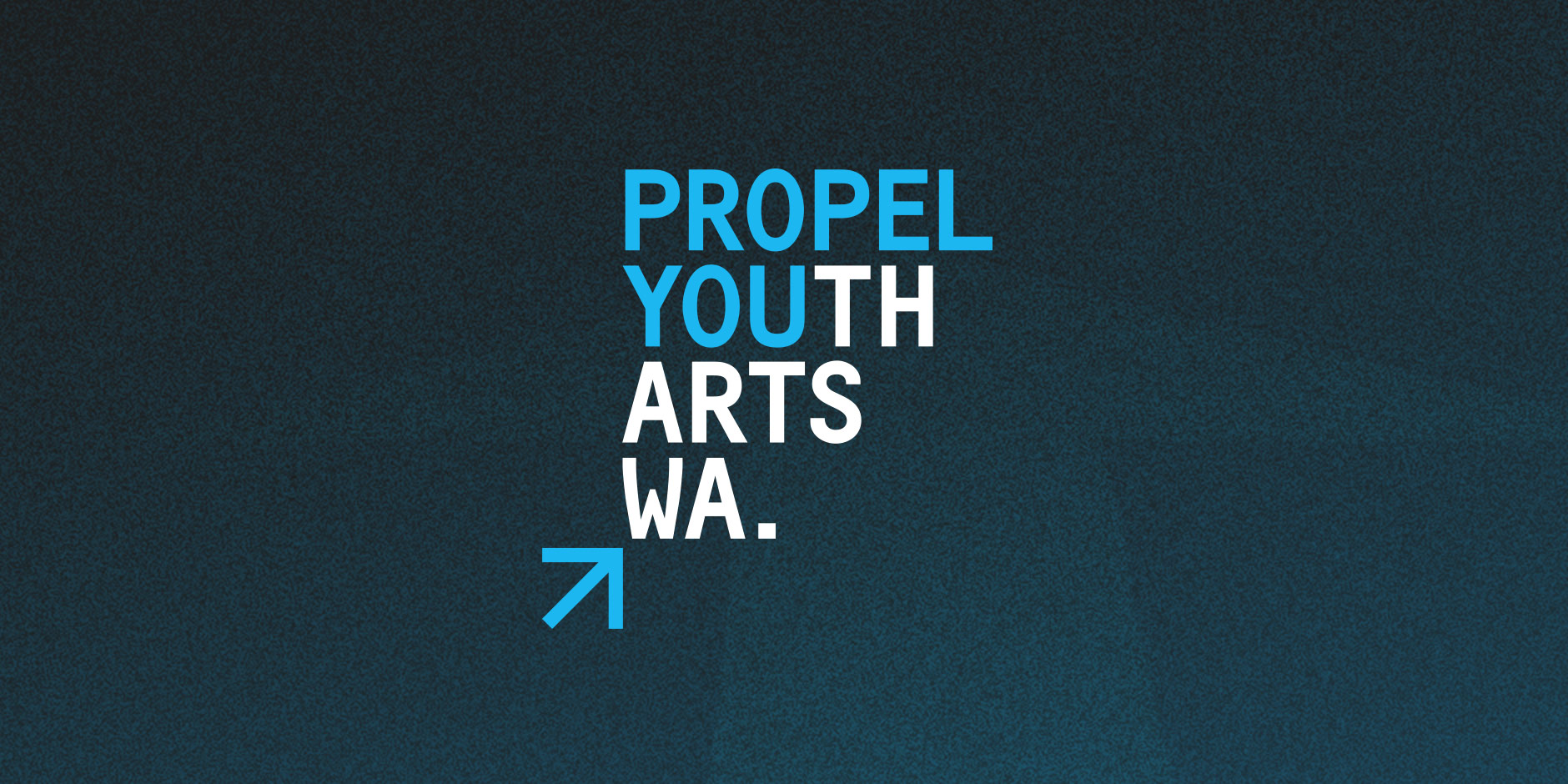 Identity for a non-profit youth arts organisation in WA