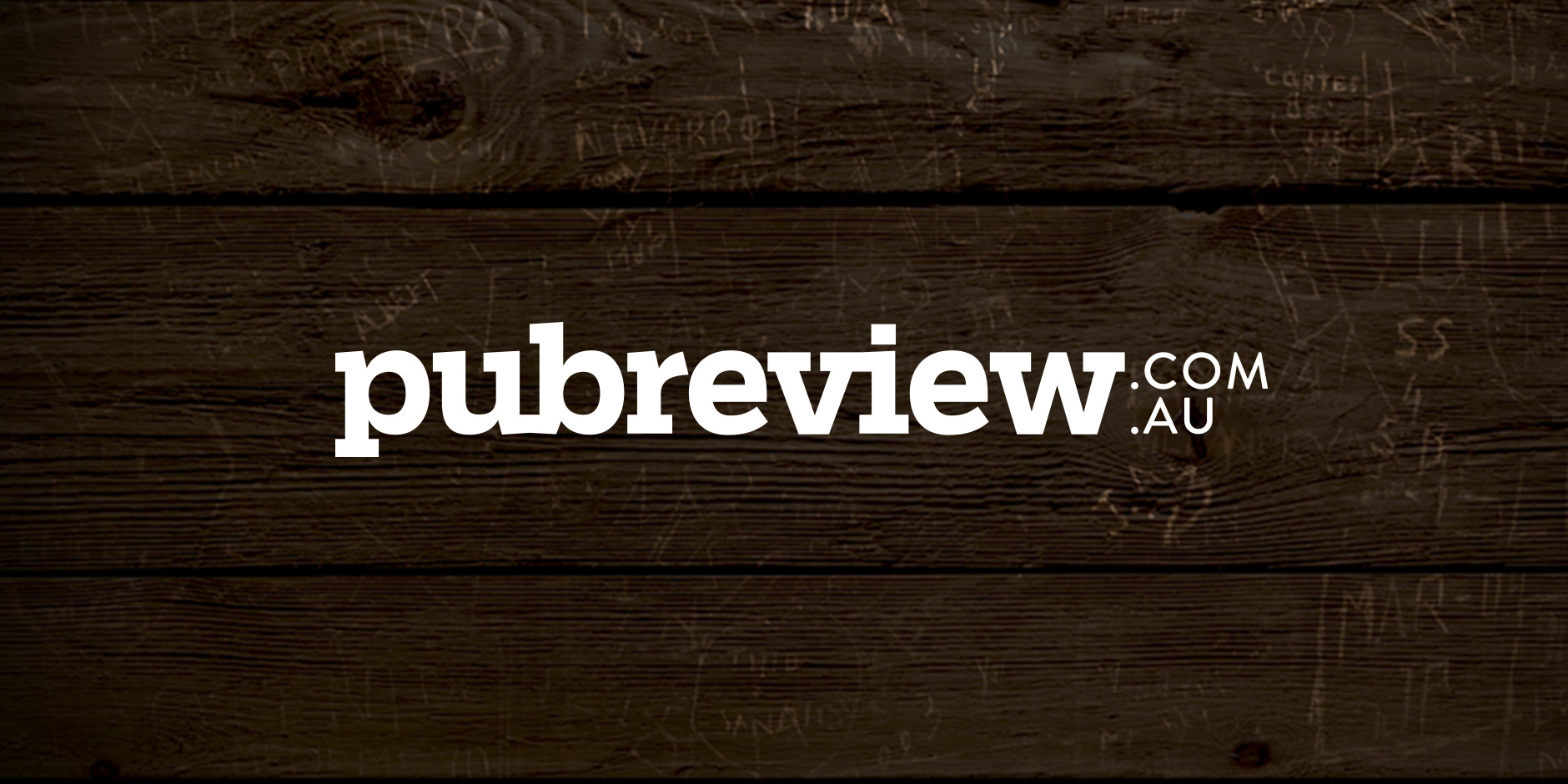 A logotype for a website dedicated to... well, reviewing pubs